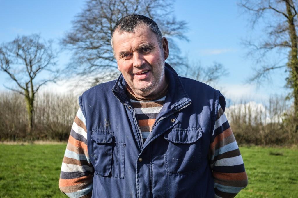 Jean-François, agriculteur.