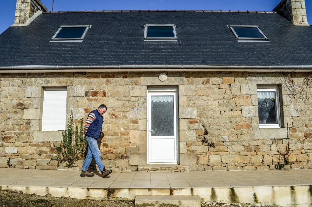 En 2013, Jean-François finalisait les travaux de sa maison. © Photo Elen Rius